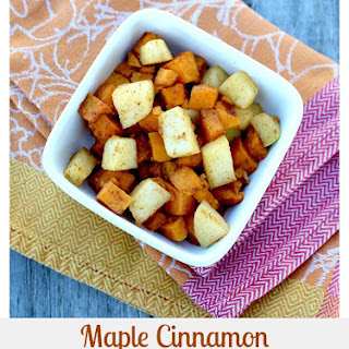 Maple Cinnamon Sweet Potatoes and Apples.