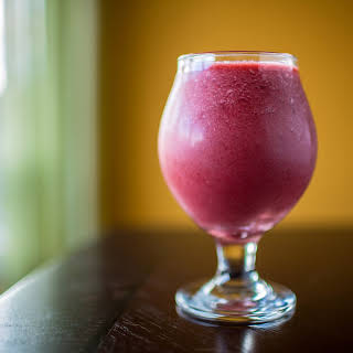 Red Beet and Berry Smoothie.