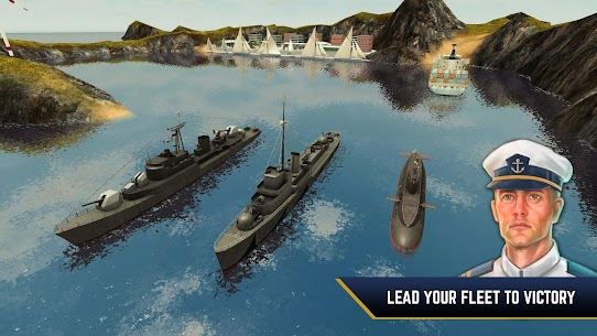 Enemy Waters : Submarine and Warship battles 1