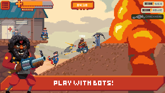 Gangfort - online 2D shooter Screenshot