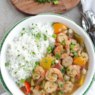 Spicy New Orleans Style Gumbo.