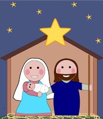 Image result for clip art christmas religious
