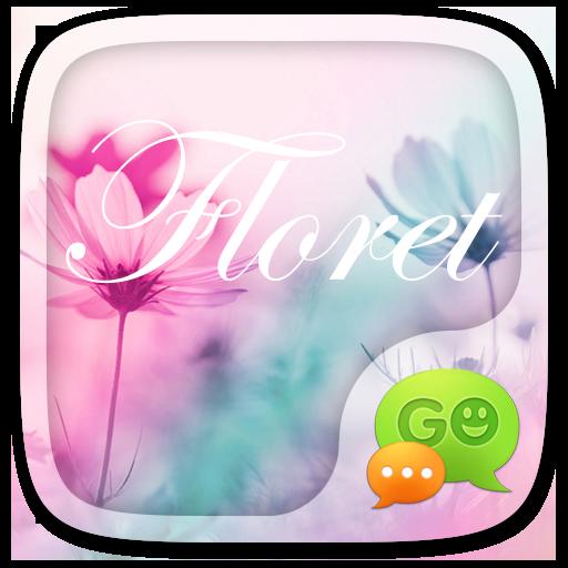 (FREE) GO SMS FLORET THEME