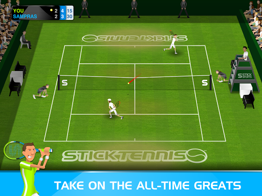 Stick Tennis  screenshots 7
