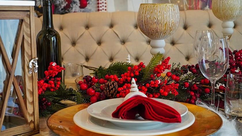 Este año sentarse a la mesa por Navidad será algo más complicado.