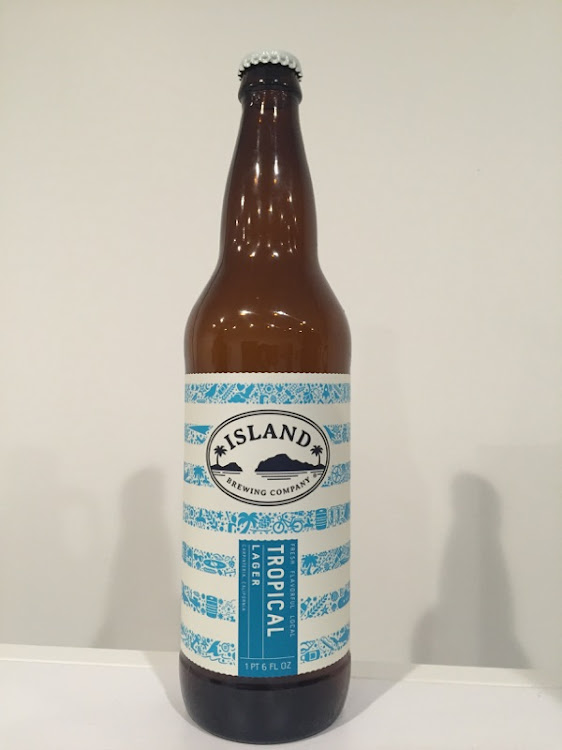 Logo of Island Brewing Company Tropical Lager