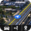 Street View Live HD : GPS Route & Voice Navigation icon