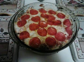 Mock Pizza Casserole
