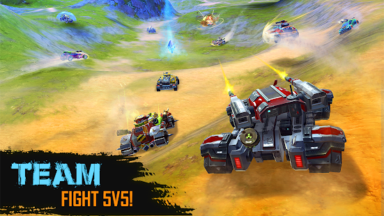 ApkMod1.Com Cars of War + (God mod) for Android Action Game