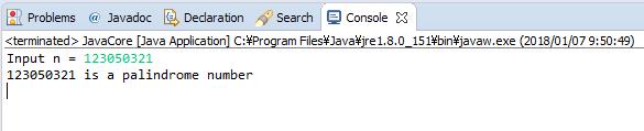 Java - Số đối xứng