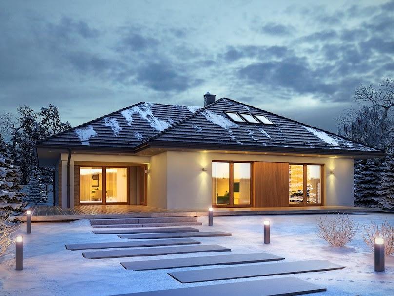 Dach wielospadowy w projekcie domu
