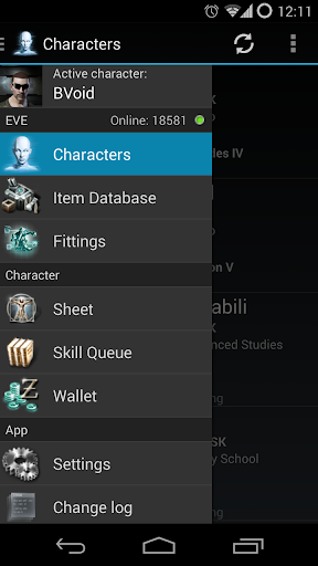EVE Droid BETA by Byte Array ApS (Google Play, United States