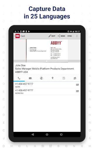 Business Card Reader - Business Card Scanner 4.25.1.2 screenshots 12