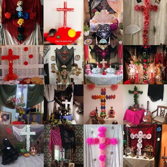 La Cruces de Mayo en Almería.