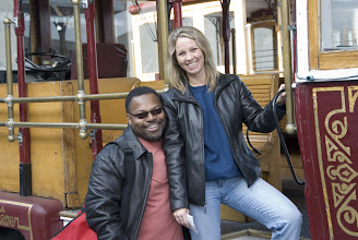 Photo: Deb and Kevin on cable car