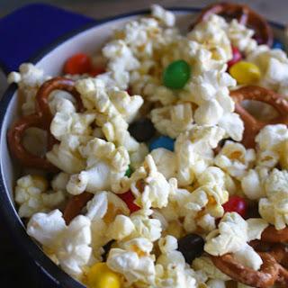 M&M's® Crispy Popcorn Snack Mix.