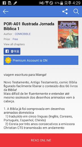 Children's Comic Bible Story