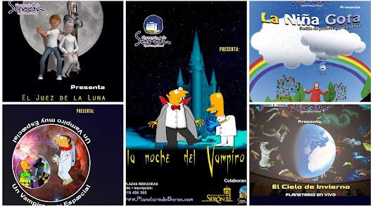 Cine Familiar y Observación del cielo en el Planetario de Serón