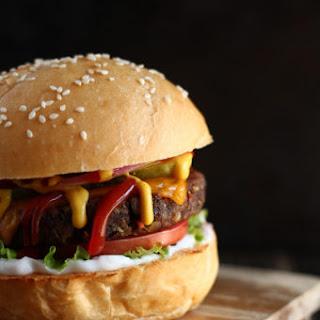 Vegan Mushroom & Black Bean Burgers