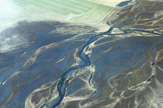 Photo: We see many braided streams.