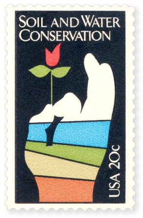 1985 Stamp celebrating 50 years of SWCD
