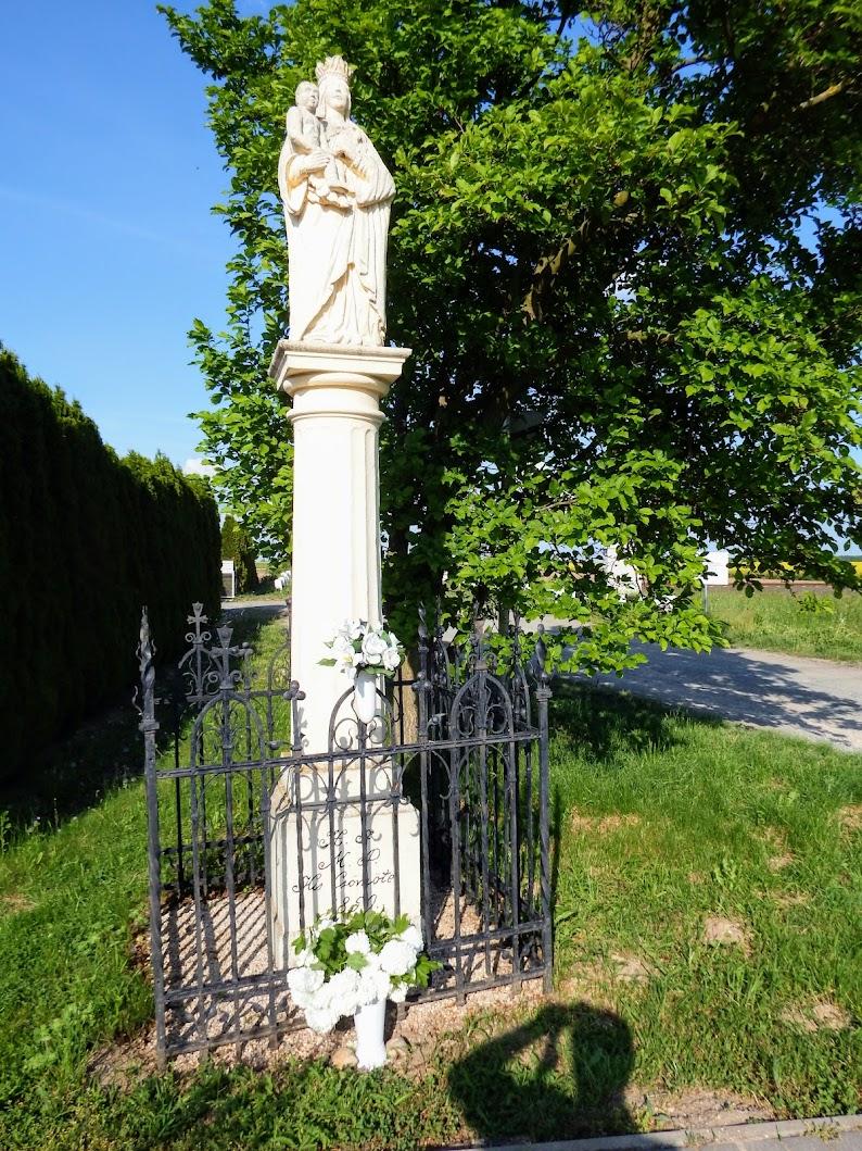 Lukácsháza - Kiscsömötei Mária-szobor