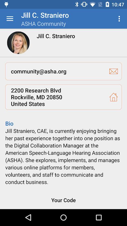 ASHA Community- screenshot