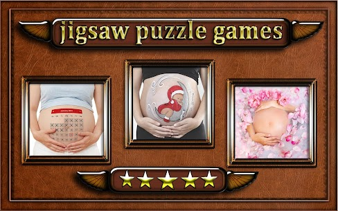 pregnant woman belly Jigsaw Puzzle game 3