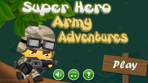 Super Hero Soldier Adventures