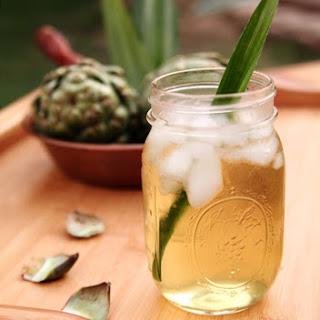 Nuoc Mat - Artichoke and Pandan Iced Tea.