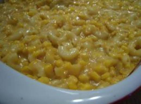 Macaroni & Cheese With Corn Recipe