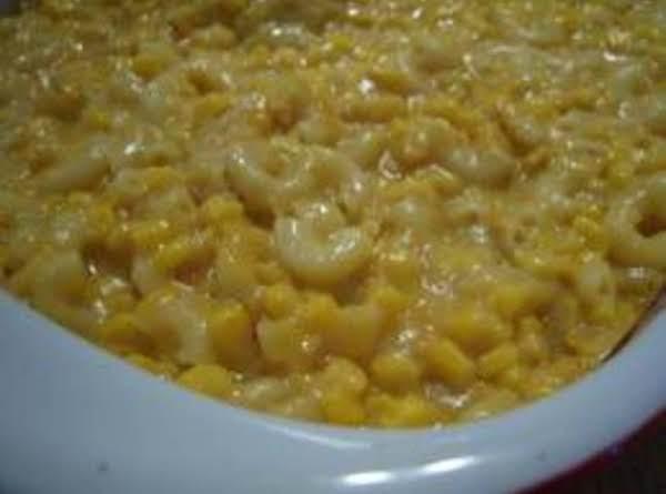 Macaroni & Cheese With Corn Recipe
