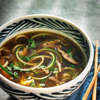 Asian Zoodle Soup.