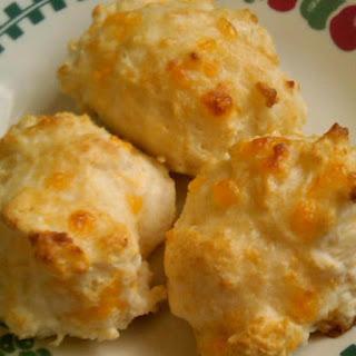Cheddar Garlic Biscuits.