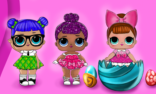LOL Surprise dolls opening eggs for PC