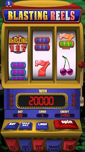 Blasting Reels Slot Machine - náhled