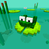 Blocky Frog
