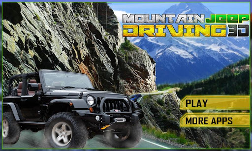 Crazy Mountain Jeep 3D