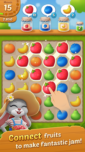 Fruit Jam: Puzzle Garden 1.0.14 mod screenshots 1