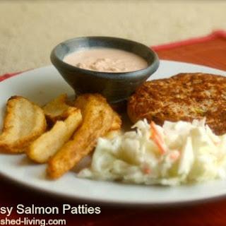 Quick Easy Salmon Patties.