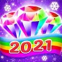 Bling Crush: Free Match 3 Jewel Blast Puzzle Game icon