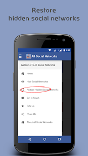 All In One - Social Networks- screenshot thumbnail