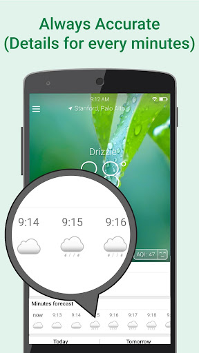 WeatherClear - Ad-free Weather, Minute forecast 1.2.6 screenshots 4