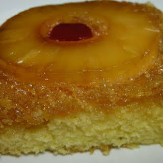 Super Moist Pineapple Upside Down Cake.