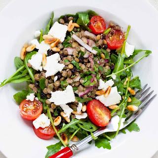 Lentil Salad with Arugula and Feta Recipe
