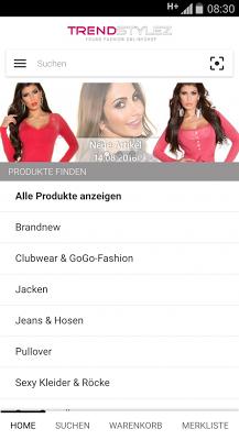 Trendstylez - screenshot