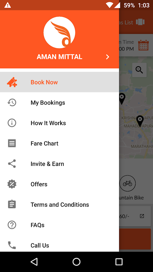 Dryve: Self Drive Bike Rentals- screenshot