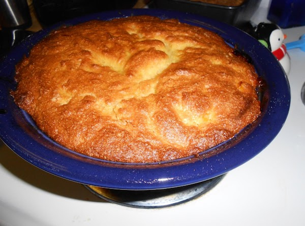 Bake at 400 degrees for 25-30 minutes until cornbread is golden brown.