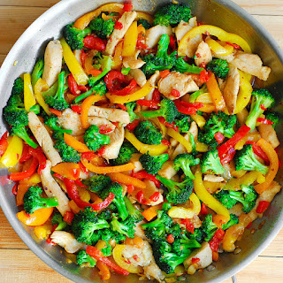 Easy Chicken and Vegetables Stir Fry.