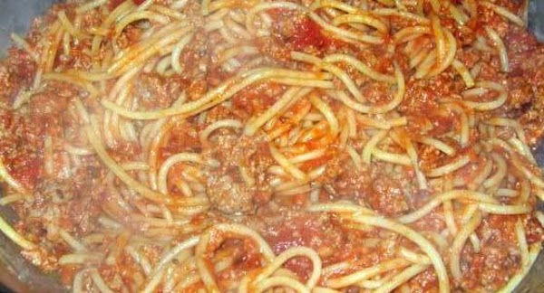 In the meantime, cook spaghetti according to package directions; drain well.  Add to...